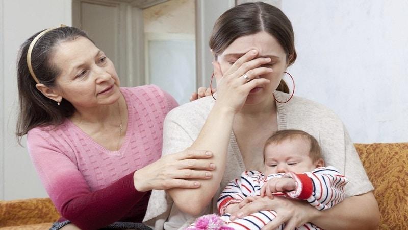 послеродовая депрессия симптомы и лечение