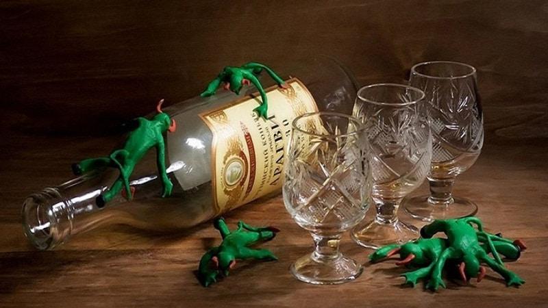 алкогольный психоз это
